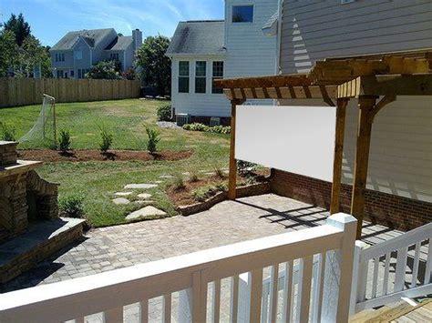 backyard theater ideas outdoor movie theater diy idea bangin backyards