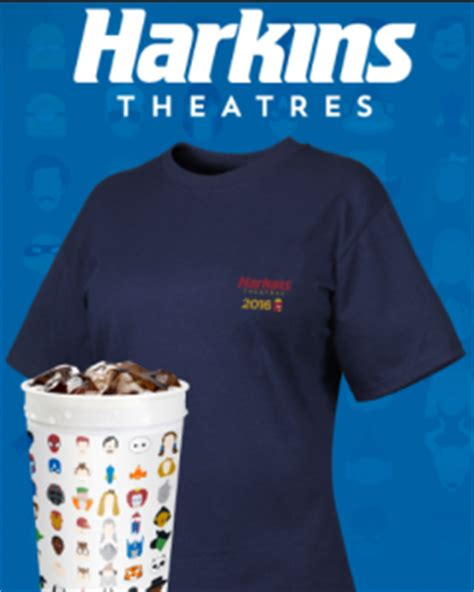 Harkins Gift Card Free Popcorn - harkins free cup w t shirt purchase and free shipping today only free popcorn 1