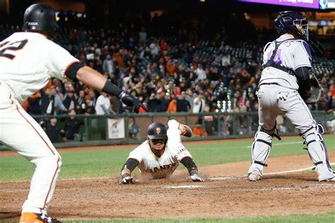 Baseball Giants san francisco giants show their brand of baseball in