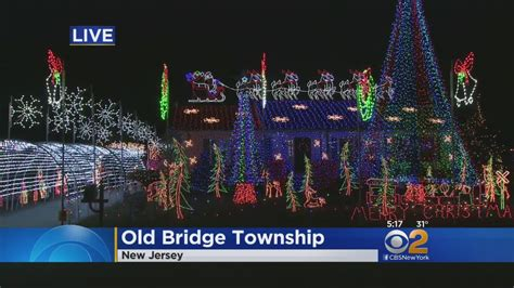 old bridge holiday lights display youtube