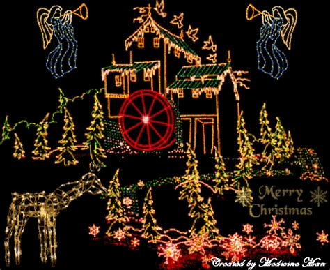 holiday lights animated gifs free animated pictures animated house lights gif