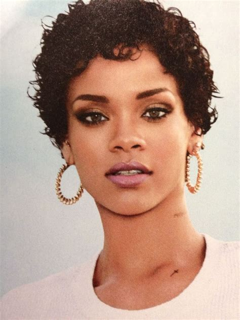 natural shortcuts rihanna shortcuts pinterest rihanna hair and