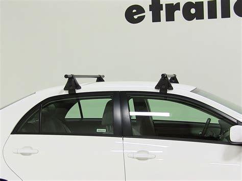 2014 Toyota Corolla Roof Rack by Yakima Roof Rack For 2012 Corolla By Toyota Etrailer