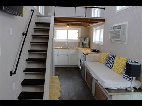 Camper Trailer Kitchen Ideas mini mansions tiny house has all the creature comforts