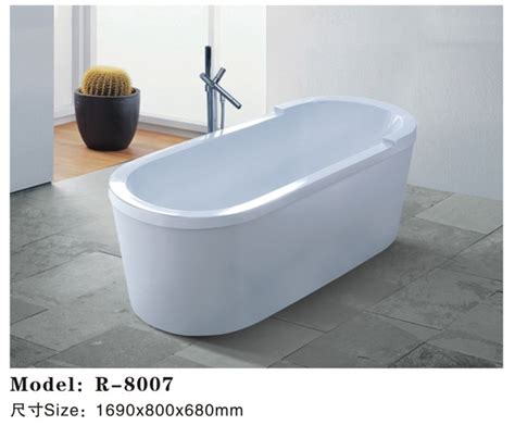 Portable Bathtub India by India Freestanding Small Size Oval Shaped Acrylic Soaking