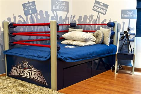 wrestling bed the wrestling room eclectic kids other metro by