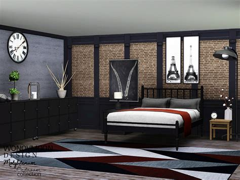 sims 3 bedrooms wondymoon s molybdenum bedroom