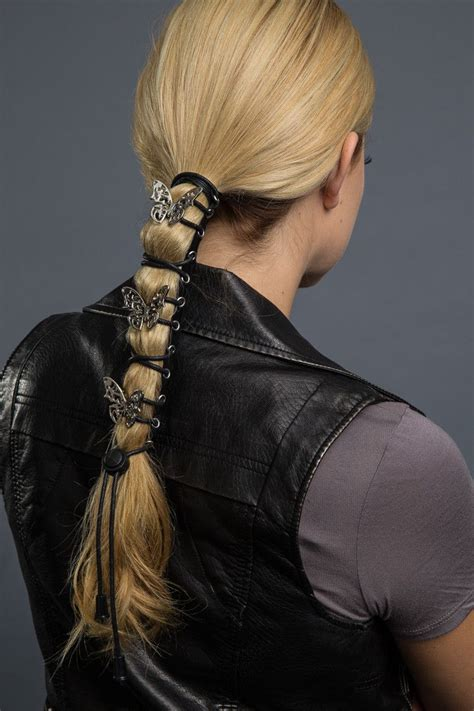 motorcycle ponytail hairstyles for women the 25 best motorcycle hairstyles ideas on pinterest