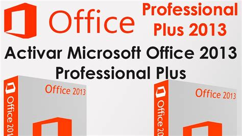 activar microsoft office professional   youtube