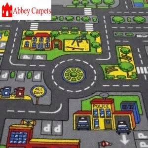 children s road rug play mat car roadway large