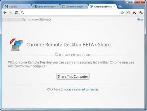 Chrome Remote Desk by How To Use Chrome Remote Desktop