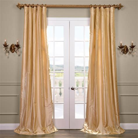 half priced drapes com half price drapes melrose silk taffeta satin stripe
