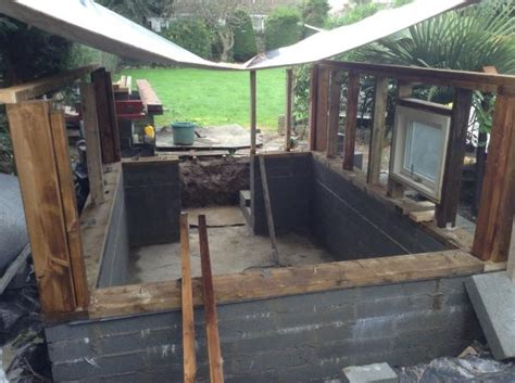Half Shed Half Greenhouse by Custom Shed Build Half Undergound Doityourself