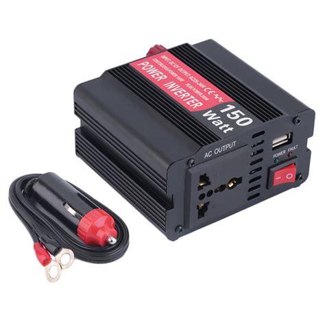 power inverter for boat 150w 12v dc to 220 240v ac voltage car truck boat power