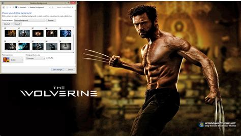 win themes definition the wolverine windows 7 theme download