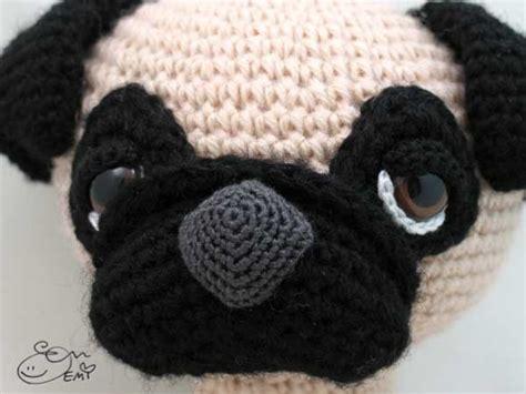 pattern for pug clothes sleepy eyed pug amigurumi pattern by emi kanesada enna