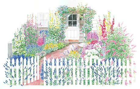 planning a cottage garden a cottage garden plan