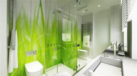 bathroom wall murals 10 cheery green bathroom interior design ideas https