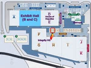 Indiana Convention Center Floor Plan by Booth Amp Maps Integrity General Convention 2012