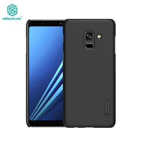 Samsung Galaxy S8 Plus Nillkin Frosted Hardcase Free Anti Gores nillkin frosted shield cover for samsung galaxy a8 2018 a8 plus 2018