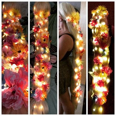 rapunzel tutorial wig rapunzel wig commission glowing version by
