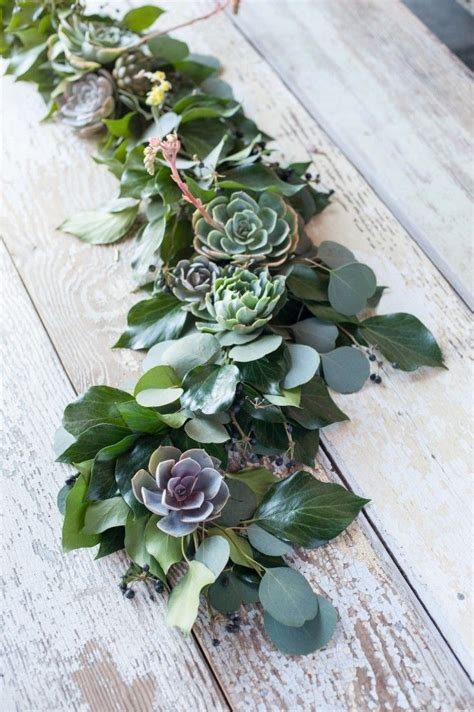 eucalyptus table runner modern diy table runner ideas