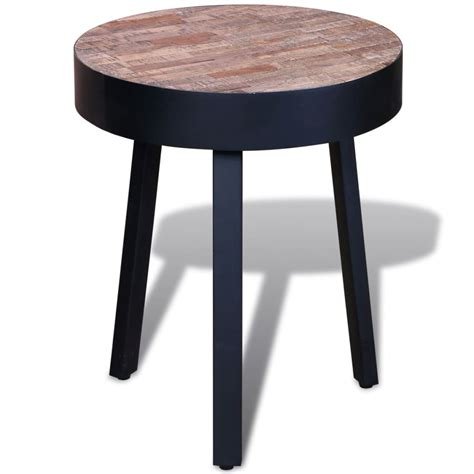side table vidaxl co uk side table reclaimed teak