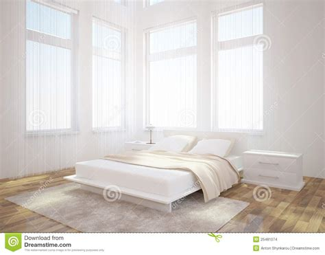white bedroom interior design stock images image 25481074