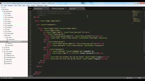 codeigniter tutorial video in hindi integrasi codeigniter dan template bootstrap build a