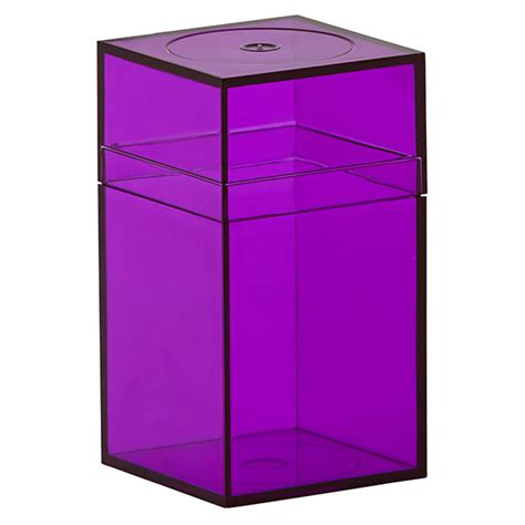 Amac Boxes Small Purple Amac Boxes The Container Store