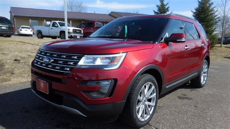 rogers auto plymouth used 2016 ford explorer limited 3 5l v6 4wd elk river