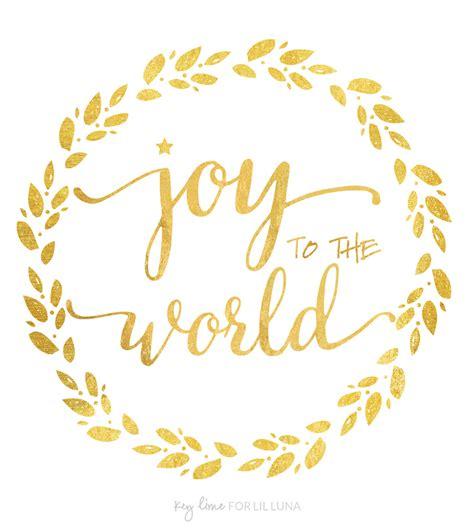 printable version of joy to the world joy to the world printable
