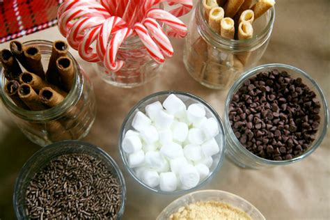 toppings for hot chocolate bar hot cocoa bar archives savvy sassy moms