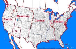 u s time zone map time zone map of the united states