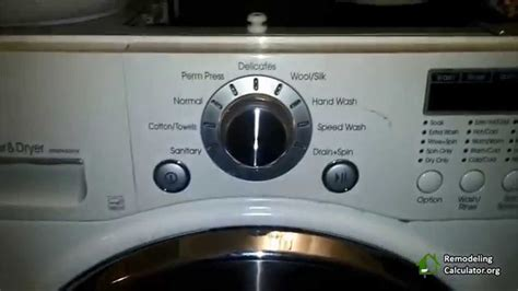 lg washer dryer repair remove lint part 2