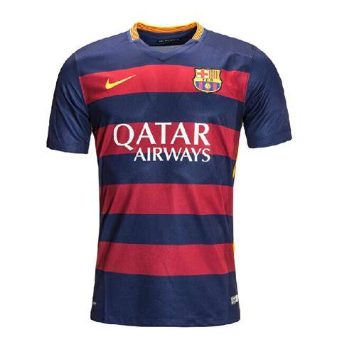 Tshirt Psja Jakarta Football Club 15 16 barcelona home soccer jersey shirt bestcheapsoccer