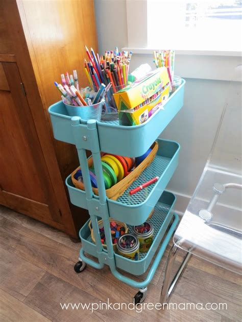 ikea craft cart this ikea cart makes for the perfect art craft cart kid s