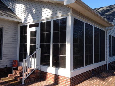 Sunroom Windows With Screens Eze Panels Nc Sunroom Kits All Seasons Roofing