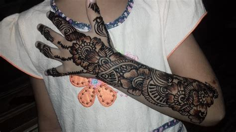 kid mehndi designs for hands 2017 simple and easy