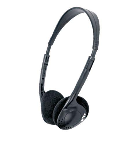 Headphone Standar Intex Standard Black Headphone With 3 5mm Stereo Connector
