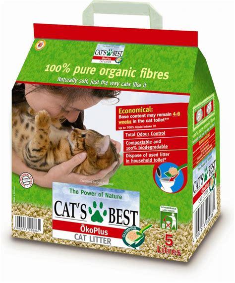 Cat Litter Clumpercat cats best okoplus wood clump cat litter