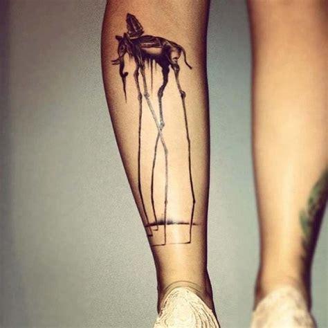 elephant tattoo long legs 40 beautiful dali elephant tattoos