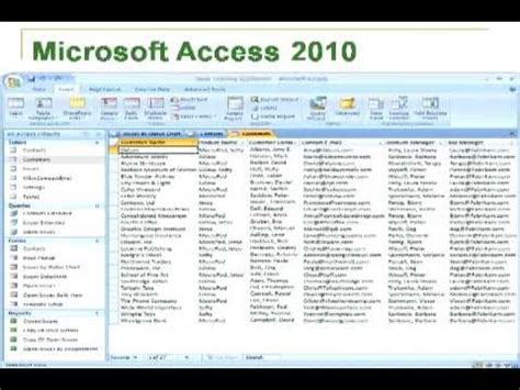 Creating And Managing Research Databases In Microsoft Access Youtube Ms Access Database Templates