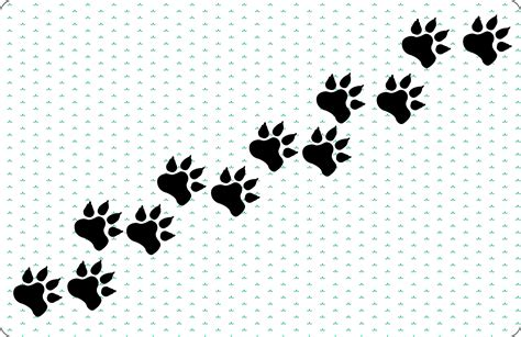 how to draw a puppy paw 8 best images of from a paw prints how to draw a for a paw print paw