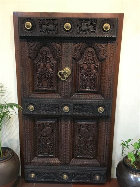 chettinad teak door door design wooden door design