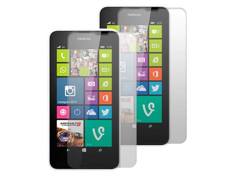 Screen Guard Ruby Nokia 630 clear screenprotector voor nokia lumia 630 635 2 pack
