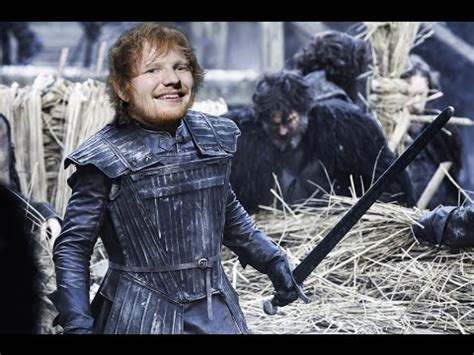 ed sheeran game of thrones song ed sheeran to guest star on game of thrones youtube