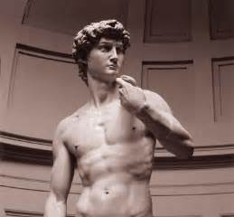 statue of david march of history by richard wall michelangelo master of