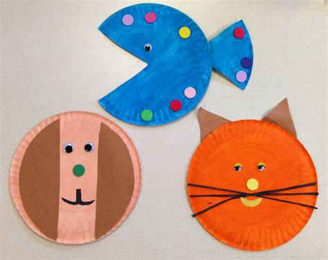 Pet Theme Paper Plate Craft Pet Activities