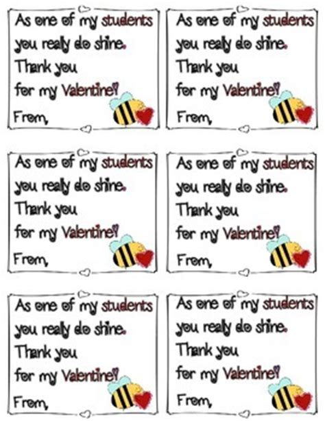 printable thank you notes from teachers to students valentine s day thank you notes to students by meghan